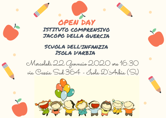 open day isola darbia